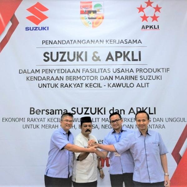 Suzuki Jalin Kerjasama Penjualan Produk Dengan APKLI