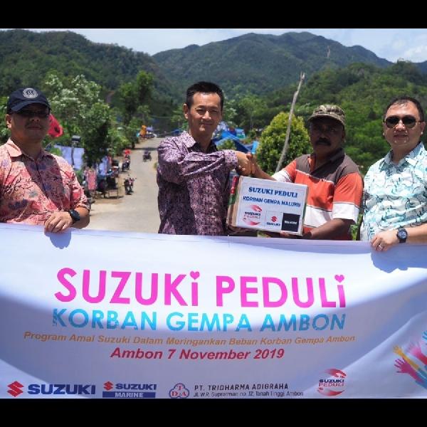 Suzuki Peduli Gempa Maluku