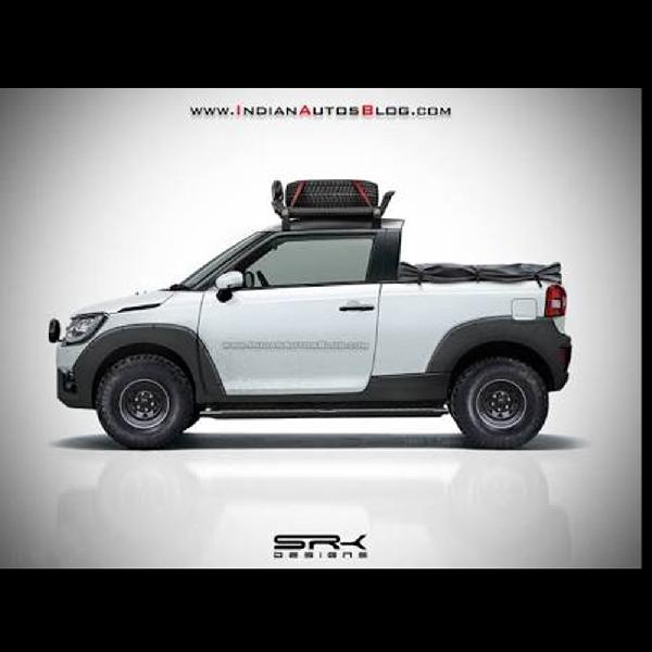 Suzuki Ignis di Sulap Jadi Pickup Adventure