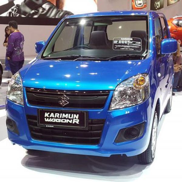 Inilah Tampilan Baru Suzuki Karimun Wagon R di IIMS 2017