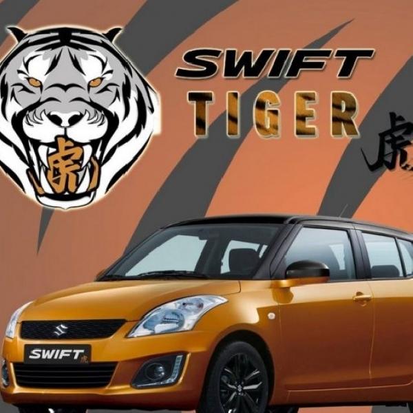 Suzuki Luncurkan Swift Tiger Edisi Terbatas Hanya 100 Unit