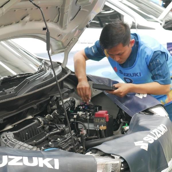 Suzuki Cetak Teknisi Terbaik  Lewat National Technician Skill Competition 2018