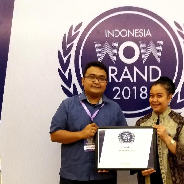 Suzuki Raih Bronze Champion dari Wow Brand 2018