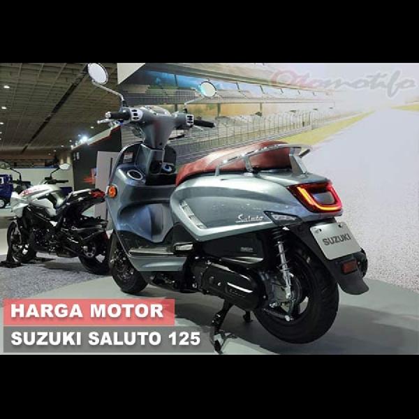 Suzuku Saluto, Motor Unik Penantang Honda Scoopy dan Yamaha fino