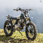 Peace Scrambler, Kustomisasi Suzuki TU250 Grasstracker Ala Heiwa Motorcycle
