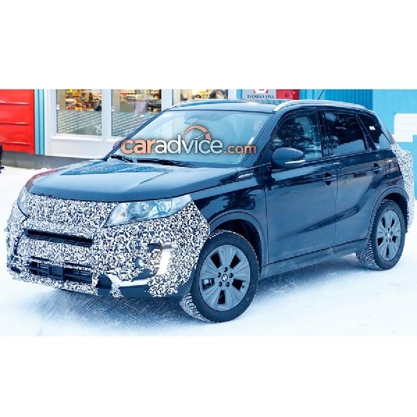 Suzuki Vitara 2019, Sedang Diujicobakan di Swedia