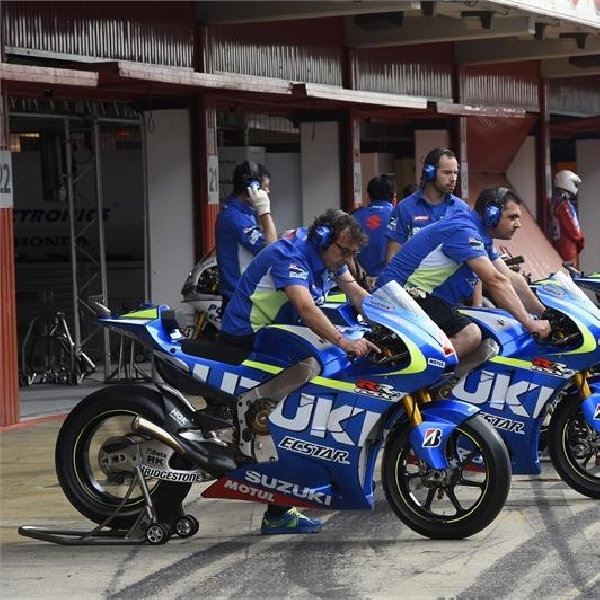 MotoGP: Suzuki Yakin Lebih Kencang Musim Depan