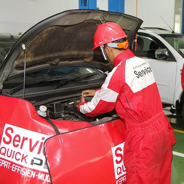 Servis di Bengkel Resmi Mitsubishi Dapat Diskon