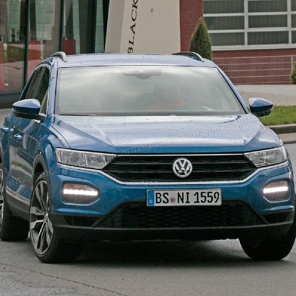 Volkswagen T-ROC R Menampakkan Diri Tanpa Kamuflase
