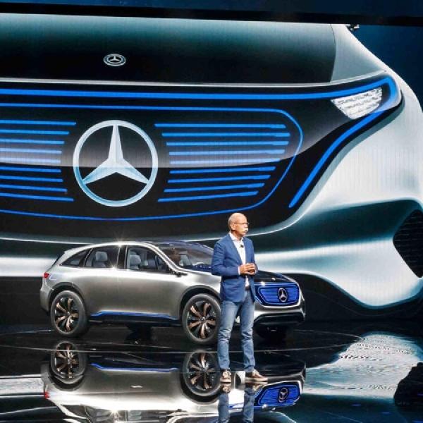 Mercedes Benz Kembangkan Mobil Listrik Super Mewah Di 2020