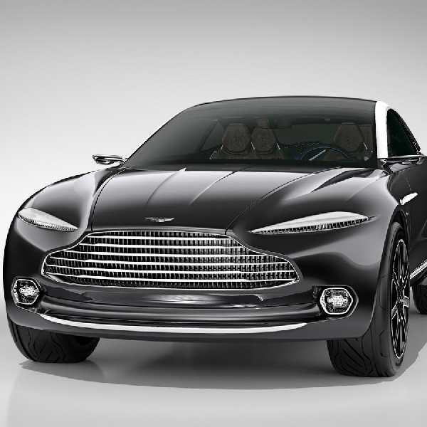 Aston Martin Berencana Produksi DBX Listrik