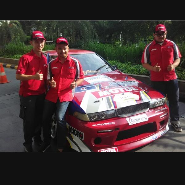 Motul Sponsori Pebalap Motor dan Mobil Indonesia