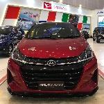 Ayla Turbo, Sambangi GIIAS Surabaya Auto Show 2019
