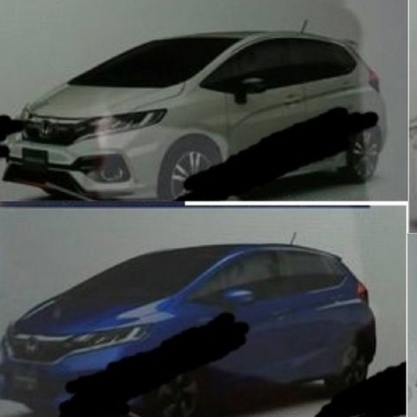 Tampang Honda Jazz Facelift Bocor di Majalah Jepang