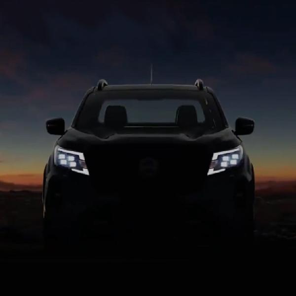Teaser Nissan Navara Facelift Terungkap, Debut 5 November