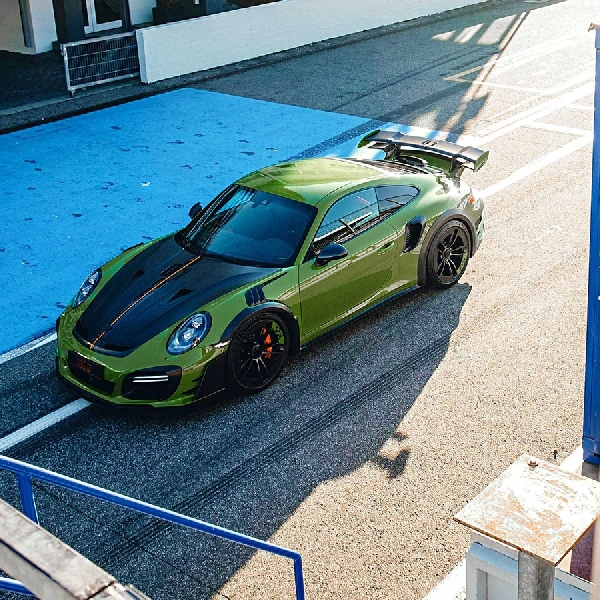 Porsche 911 Turbo S Dimodifikasi TECHART Menyandang Nama GTstreet RS 770 hp