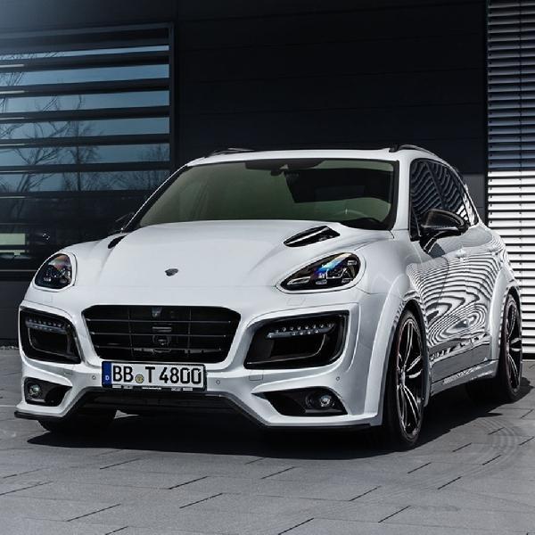 Rayakan Anniversary ke-30 - TechArt Racik Porsche Cayenne Lebih Buas