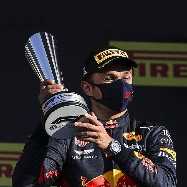 F1: Tegas, Red Bull Tak Cari Pengganti Alex Albon
