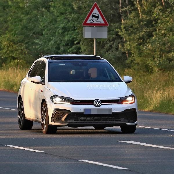 Terbidik Kamera, Ini Wajah Baru Volkswagen Polo GTI Facelift 2022