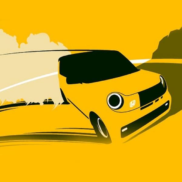 Terungkap, Gambar-Gambar 'Cute' Mobil Listrik Berbodi Karbon ala Honda