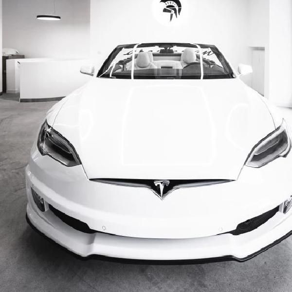 Tak Sabar Menanti Tesla Roadster, Ares Design Munculkan   Modifikasi Model S menjadi Convertible