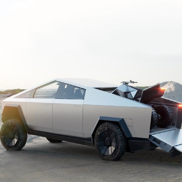 Tesla Umumkan Revisi Cybertruck