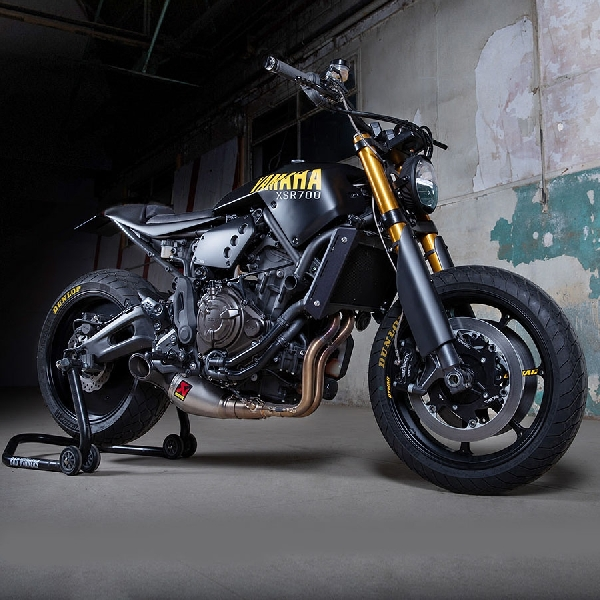 The Disruptive, Pemenang Kustom Yamaha XSR700 Yard Built