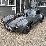 Shelby Cobra Coupe, Muscle Car Bertenaga 1200hp Modifikasi  CN Fahrzeugbau Jerman