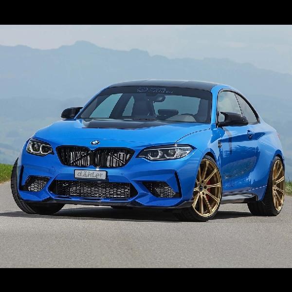 Gawat BMW M2 CS  Performance Kit Dahler, Tenaga Naik 543 hp dan Torsi 740 Nm
