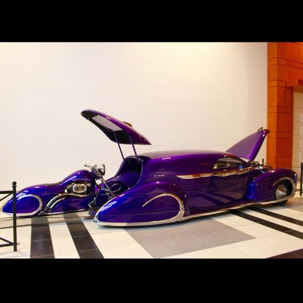 Serba Purple, Dua Karya Modifikasi Nyentrik ini Menjadi Koleksi Museum Belanda