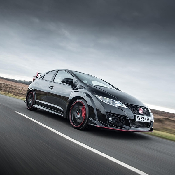 100 unit Honda Civic Hatchback Type R Black Edition Meluncur di Inggris