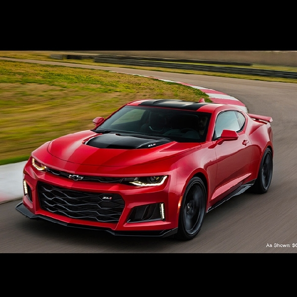 Uji Coba Chevrolet Camaro ZL1  2017 Tembus 325 Km/h di Papenburg Proving Ground