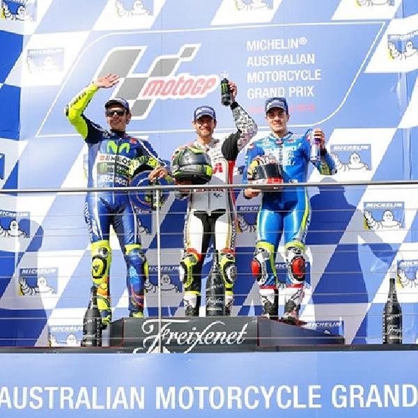 MotoGP : Rossi Akui Crutchlow Lebih Cepat di Australia