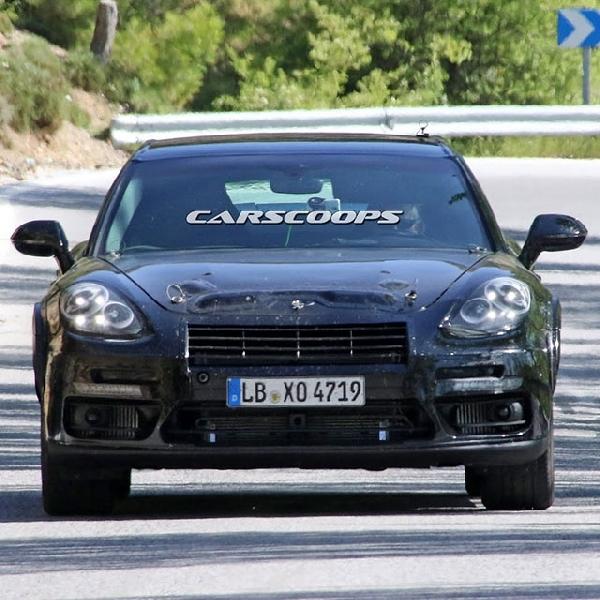Akankah Porsche Bangun Panamera Coupe ?