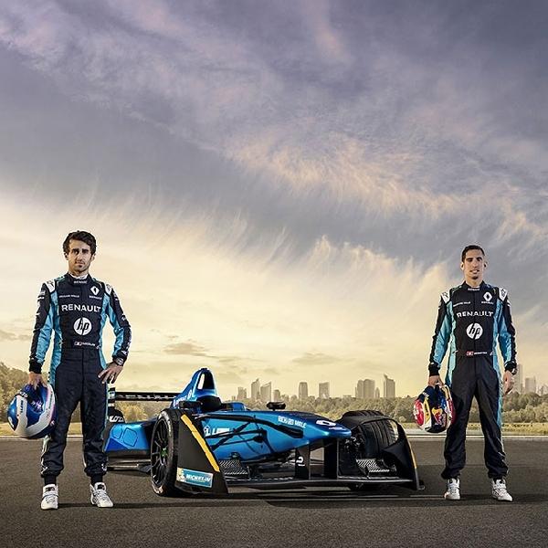 Tim Renault e.dams bersiap untuk Formula E