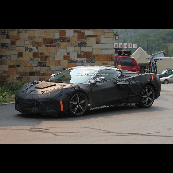 Model Penerus 2019 Corvette ZR1 Bocor. Ini Dia Fotonya!