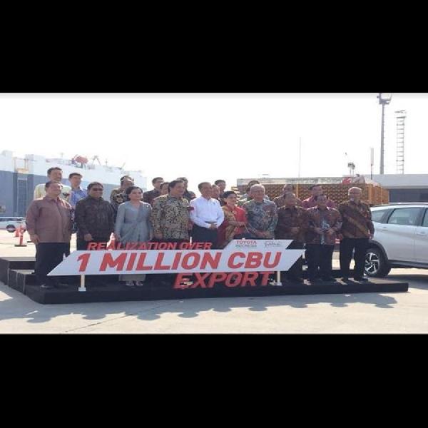 1 Juta Unit Toyota Buatan Indonesia Siap Diluncurkan ke Luar Negeri