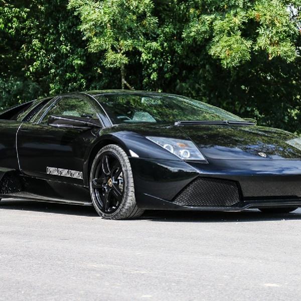 Wow! Lamborghini Murcielago Edisi Versace Akan Dilelang oleh Pemiliknya. Yuk Intip!