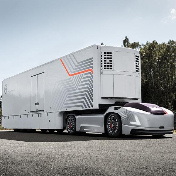 Ini Dia Truk Listrik Self-Driving Buatan Volvo