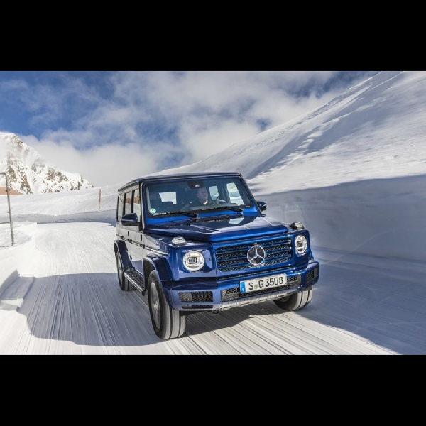 Mercedes-Benz G-Class Move On ke Mekanikal Elektrik?