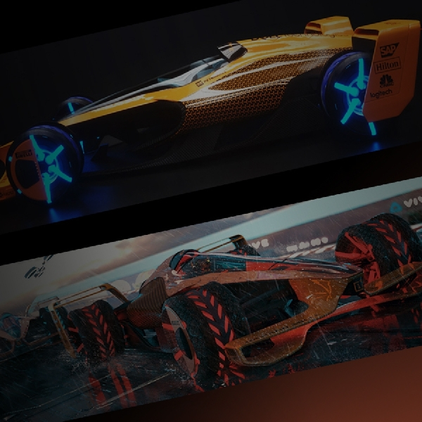 McLaren Bangun  Mobil F1 2050 dengan Aero Aktif Melesat 482 kpj