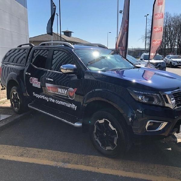 Nissan Navara untuk Tim Rubicon Selama Krisis Corona