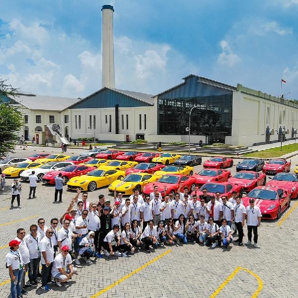 Sensasi Mengemudi Ferrari di Jalan Tol Baru