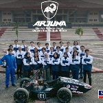 Tim Mobil Listrik Arjuna UGM Raih Penghargaan Kompetisi Mobil Listrik Formula Dunia FSEV 2021