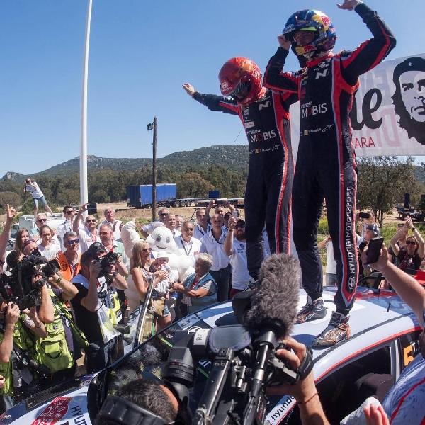 WRC: Tim Hyundai MotorSport Raih Kemenangan di Perancis
