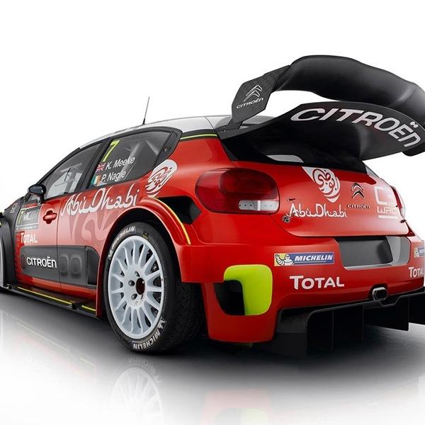 Tim WRC Citroen C3 Berambisi Rebut Juara 2017