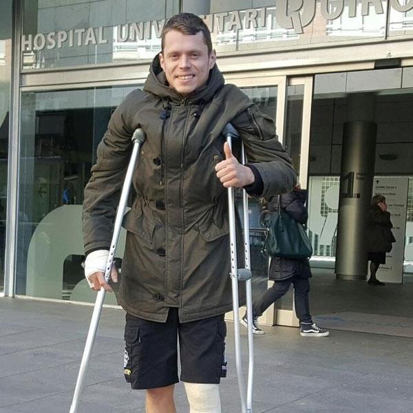 MotoGP: Operasi Berjalan Lancar, Tito Rabat Keluar dari Rumah Sakit