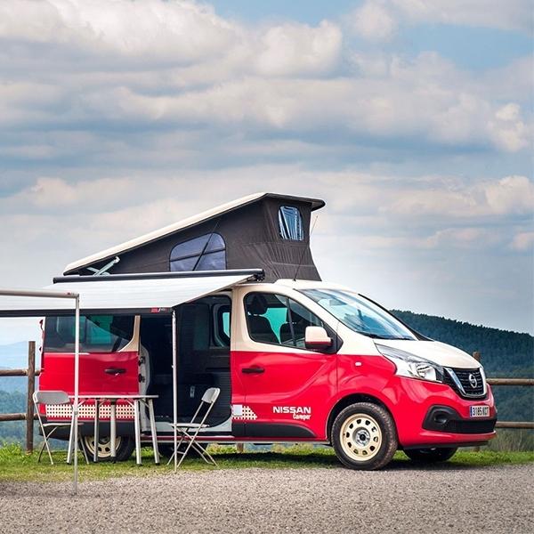 Nissan e-NV200, Mobil Asyik Buat Camping