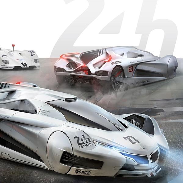 Kendaraan BMW Le Mans Racer  Bisa Saja Terlihat Seperti ini