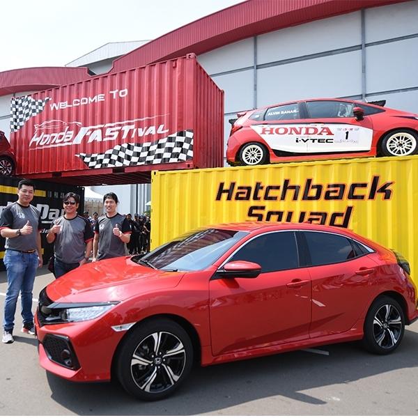 3.000 Mobil Banjiri Honda Fastival 2018